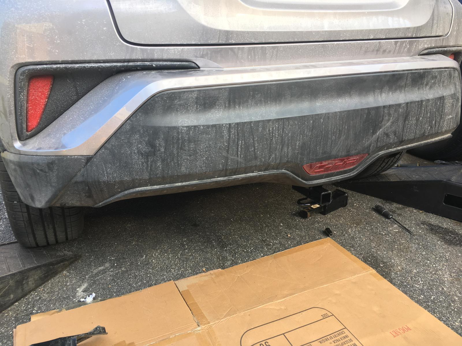 Installing tow hitch Toyota CHR Forum