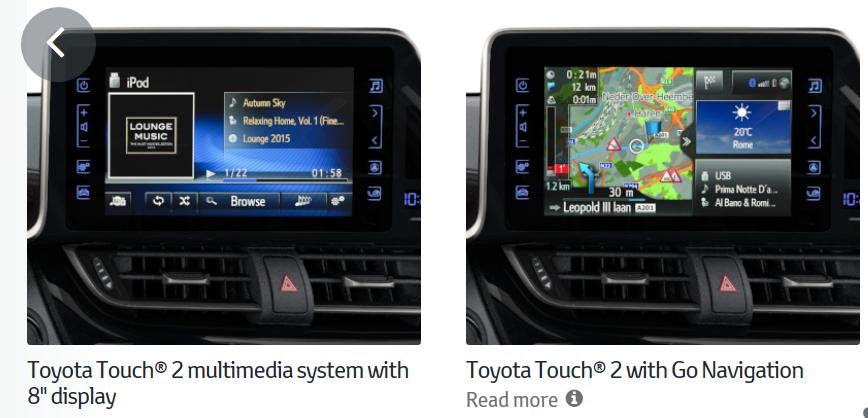 Infotainment System   ??? - Toyota C-HR Forum
